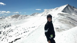 Skiing at Copper Mountain in March 2013-- best skiing weather/conditions ever!